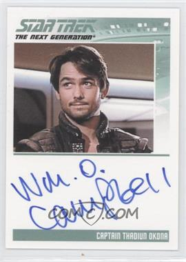 2011 Rittenhouse The Complete Star Trek: The Next Generation Series 1 - Autographs #WICA - William O. Campbell