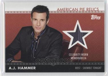 2011 Topps American Pie - American Pie Relics #APR-2 - A.J. Hammer