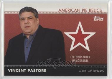2011 Topps American Pie - American Pie Relics #APR-33 - Vincent Pastore