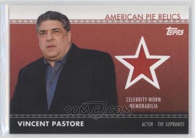 2011 Topps American Pie - American Pie Relics #APR-33 - Vincent Pastore