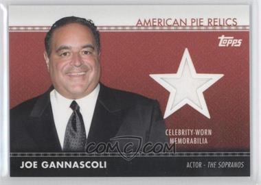 2011 Topps American Pie - American Pie Relics #APR-7 - Joe Gannascoli