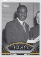 Robinson Breaks Color Barrier (Jackie Robinson)