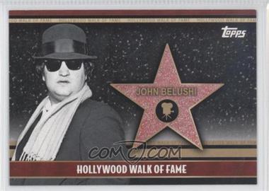 2011 Topps American Pie - Hollywood Walk of Fame #HWF-19 - John Belushi