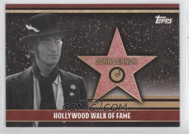 2011 Topps American Pie - Hollywood Walk of Fame #HWF-20 - John Lennon