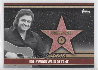 2011 Topps American Pie - Hollywood Walk of Fame #HWF-22 - Johnny Cash