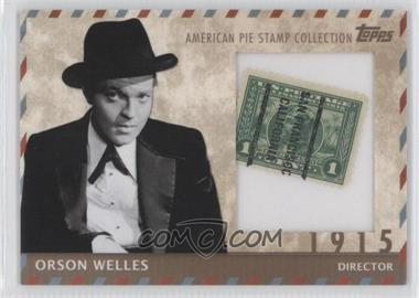 2011 Topps American Pie - Stamp Collection #7 - Orson Welles /76