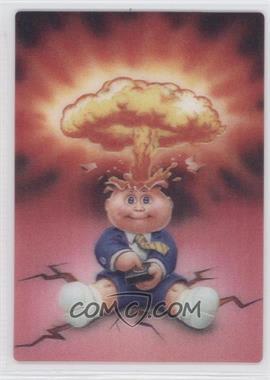 2011 Topps Garbage Pail Kids Flashback Series 2 - 3D #5 - Adam Bomb