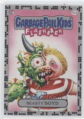 2011 Topps Garbage Pail Kids Flashback Series 2 - [Base] - Silver #62a - Beasty Boyd