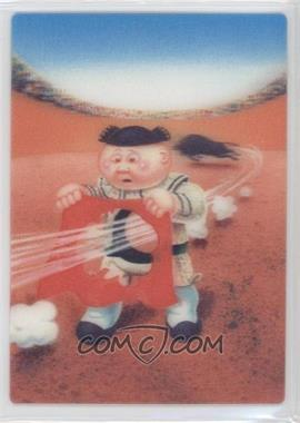 2011 Topps Garbage Pail Kids Flashback Series 3 - 3D #2 - Gored Gordon