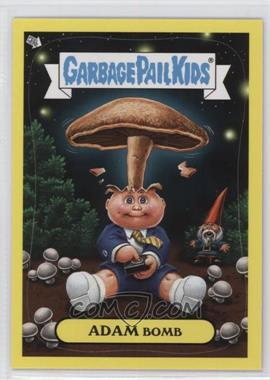 2011 Topps Garbage Pail Kids Flashback Series 3 - Adam Mania - Yellow #4 - Adam Bomb