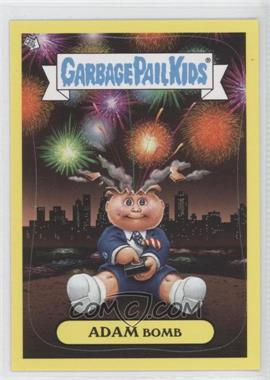 2011 Topps Garbage Pail Kids Flashback Series 3 - Adam Mania - Yellow #5 - Adam Bomb
