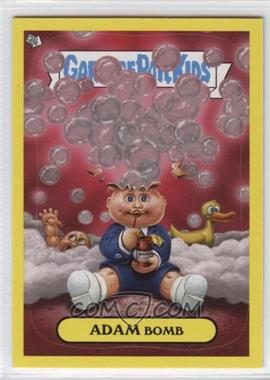 2011 Topps Garbage Pail Kids Flashback Series 3 - Adam Mania - Yellow #6 - Adam Bomb