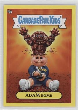 2011 Topps Garbage Pail Kids Flashback Series 3 - Adam Mania - Yellow #9 - Adam Bomb