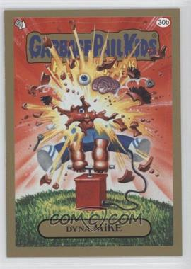 2011 Topps Garbage Pail Kids Flashback Series 3 - [Base] - Gold #30b - Dyna Mike