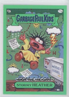 2011 Topps Garbage Pail Kids Flashback Series 3 - [Base] - Green #71a - Stormy Heather