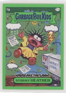 2011 Topps Garbage Pail Kids Flashback Series 3 - [Base] - Green #71a - Stormy Heather