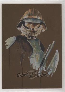 2011 Topps Star Wars Galaxy Series 6 - Foil - Bronze #7 - Lando Calrissian