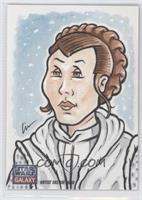 Lin Workman (Princess Leia Organa) #/1