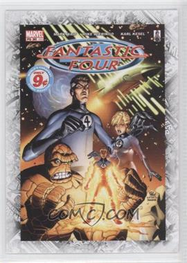 """2011 Upper Deck Marvel Beginnings Series 1 - Breakthrough Issues Comic Covers #B-35 - Fantastic Four Vol. 3 #60 (""""Inside Out"""")"""