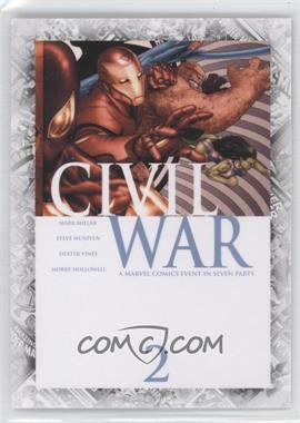 "2011 Upper Deck Marvel Beginnings Series 1 - Breakthrough Issues Comic Covers #B-38 - Civil War #2 (""Civil War: Part Two"")"