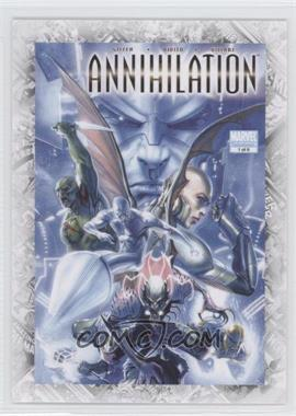 """2011 Upper Deck Marvel Beginnings Series 1 - Breakthrough Issues Comic Covers #B-40 - Annihilation #1 (""""Blood and Thunder"""")"""