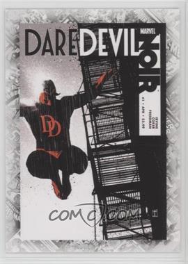 """2011 Upper Deck Marvel Beginnings Series 1 - Breakthrough Issues Comic Covers #B-42 - Daredevil Noir #1 (""""Liar's Poker"""")"""
