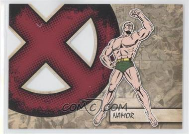2011 Upper Deck Marvel Beginnings Series 1 - X-Men Die-Cuts #X-31 - Namor