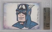 Wilson Ramos Jr. (Captain America) [BGS9.5GEMMINT] #/1