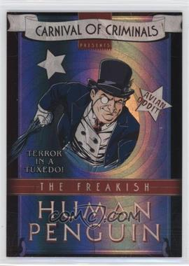 2012-13 Cryptozoic DC Batman: The Legend - Carnival of Criminals #CP3 - Penguin