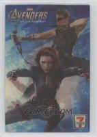 Hawkeye, Black Widow