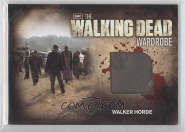 2012 Cryptozoic The Walking Dead Season 2 - Wardrobe #M28 - Walker Horde