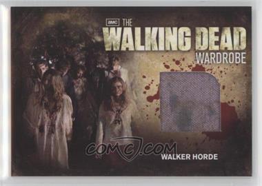 2012 Cryptozoic The Walking Dead Season 2 - Wardrobe #M31 - Walker Horde