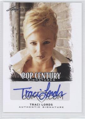 2012 Leaf Pop Century - [Base] #BA-TL2 - Traci Lords