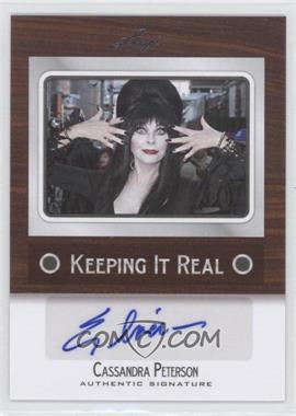 2012 Leaf Pop Century - Keeping it Real #KR-CP1 - Cassandra Peterson