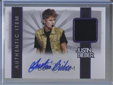 2012 Panini Justin Bieber Collection - Authentic Items - Autographs [Autographed] #23 - Justin Bieber