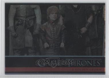 2012 Rittenhouse Game of Thrones Season 1 - [Base] - Foil #18 - A Golden Crown