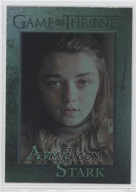 2012 Rittenhouse Game of Thrones Season 1 - [Base] - Foil #32 - Arya Stark