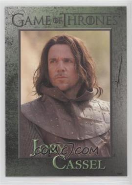 2012 Rittenhouse Game of Thrones Season 1 - [Base] #51 - Jory Cassel