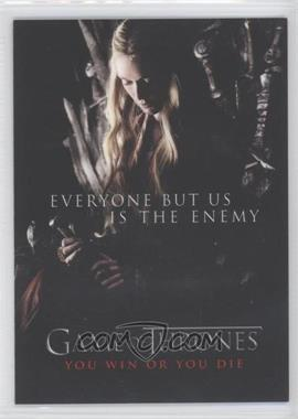 2012 Rittenhouse Game of Thrones Season 1 - You Win or You Die #SP2 - Everyone but Us Is the Enemy
