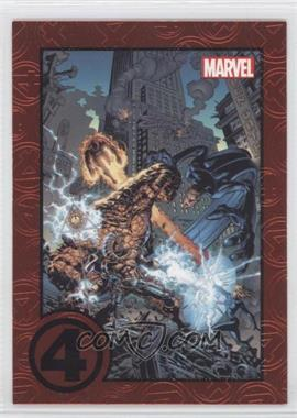 2012 Rittenhouse Marvel Greatest Battles - [Base] - Red #62 - Fantastic Four vs. Ramades