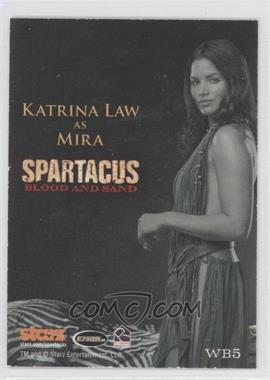 2012 Rittenhouse Spartacus Premium Packs - Women of Spartacus #WB5 - [Missing]