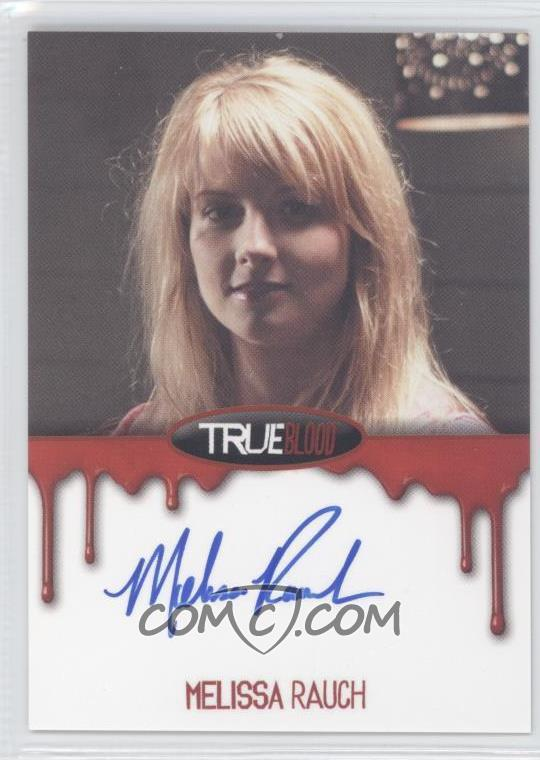 2012 rittenhouse true blood premiere edition autographs mera melissa rauch as summer. Black Bedroom Furniture Sets. Home Design Ideas