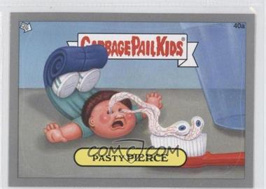 2012 Topps Garbage Pail Kids Brand New Series 1 - [Base] - Silver #40a - Pasty Pierce