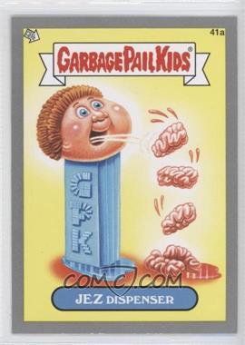 2012 Topps Garbage Pail Kids Brand New Series 1 - [Base] - Silver #41a - Jez Dispenser