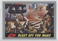 Blast Off For Mars