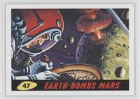 Earth Bombs Mars