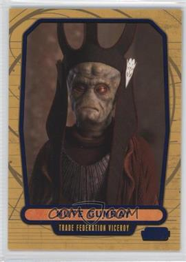 2012 Topps Star Wars Galactic Files - [Base] - Blue #10 - Nute Gunray /350