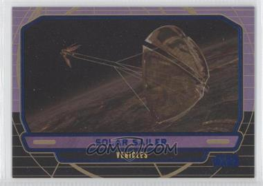 2012 Topps Star Wars Galactic Files - [Base] - Blue #255 - Solar Sailer /350
