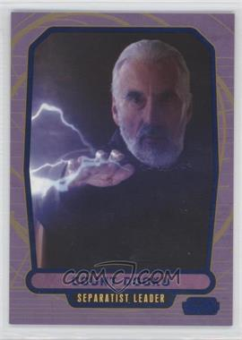 2012 Topps Star Wars Galactic Files - [Base] - Blue #36 - Count Dooku /350