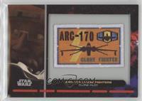 ARC-170 Clone Fighters